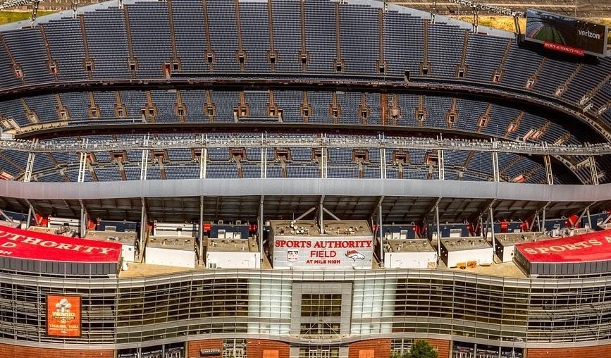 Denver Broncos stadium har huserat många kända spelare